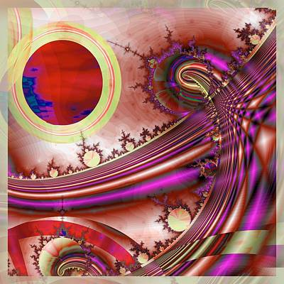Digital Art - Radiant Orchid by Wendy J St Christopher