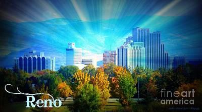 Photograph - Radiant Reno by Bobbee Rickard