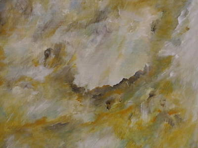 Abstract Painting - Radiant by Soraya Silvestri