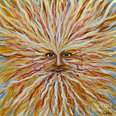Painting - Radiant Sun by Leandria Goodman