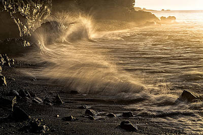 Photograph - Radiant Sunrise Surf by Marty Saccone