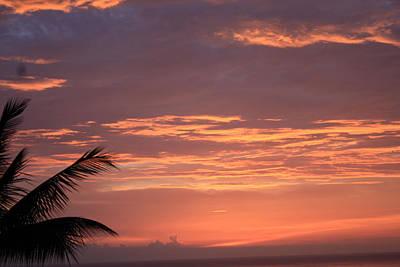 Art Print featuring the photograph Radiant Sunset 2 by Karen Nicholson