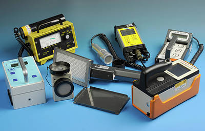 Electronics Photograph - Radiation Detectors by Public Health England