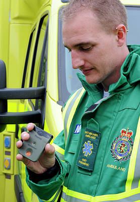 Monitoring Photograph - Radiation Emergency Response Monitoring by Public Health England