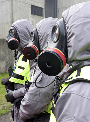 Response Photograph - Radiation Emergency Response Workers by Public Health England