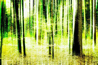 Radiation Forest Art Print