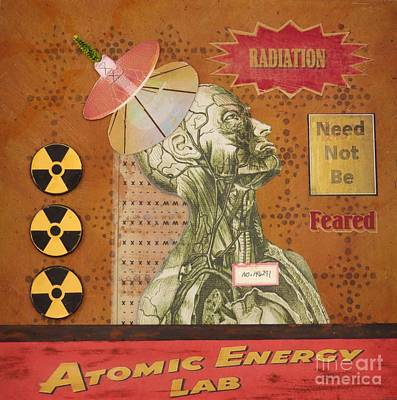 Mixed Media - Radiation Need Not Be Feared by Desiree Paquette