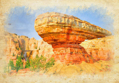 Photograph - Radiator Springs by Ricky Barnard