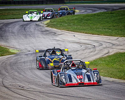 Photograph - Radical Cup Racing Vir by Alan Raasch