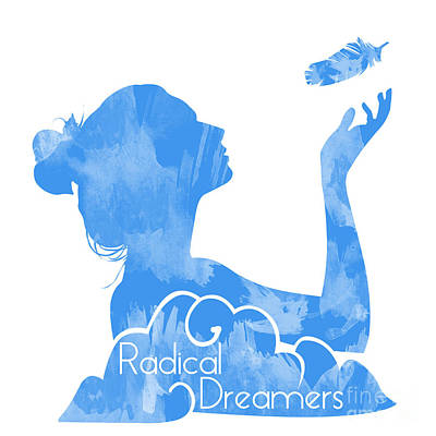 Dreamcatcher Drawing - Radical Dreamers Logo by Tuan HollaBack