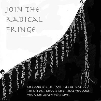 Drawing - Radical Fringe by Aurora Levins Morales