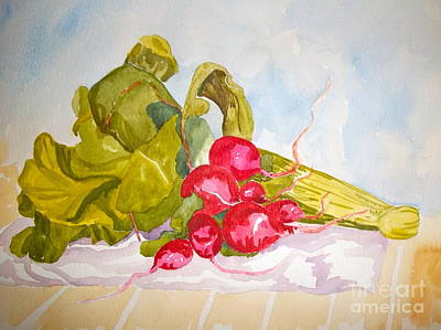 Painting - Radical Radishes by Pat Crowther