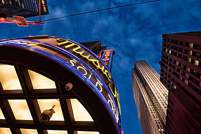 Print featuring the photograph Radio City And 30 Rock by James Howe