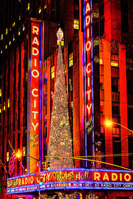 Photograph - Radio City Christmas by Chris Lord