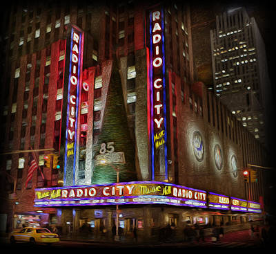 Photograph - Radio City Christmas In December by Lee Dos Santos