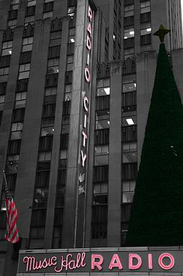 Radio City Christmas Tree Art Print by Dan Sproul