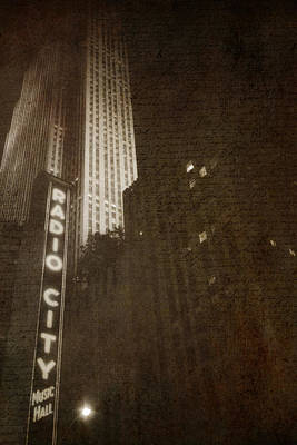 Photograph - Radio City Memories by Joann Vitali