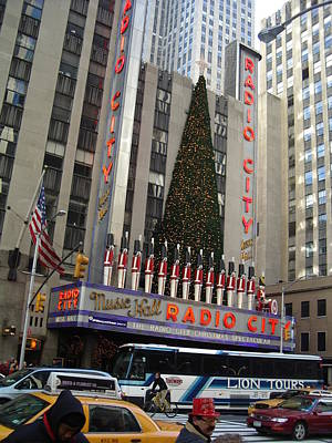 Photograph - Radio City Music Hall 2003 by John Schneider