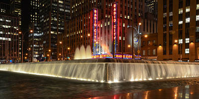 Photograph - Radio City Music Hall by Guy Whiteley
