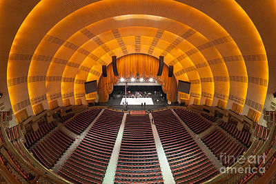 Photograph - Radio City Music Hall I by Clarence Holmes