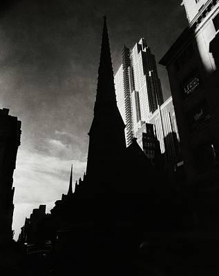 Photograph - Radio City Music Hall In New York City by Nicholas Muray