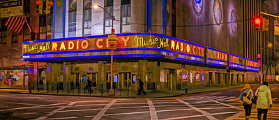 Photograph - Radio City Music Hall by Jerry Gammon