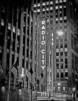Photograph - Radio City Music Hall by Kerri Farley