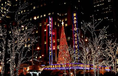 Photograph - Radio City Music Hall by Living Color Photography Lorraine Lynch