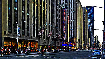 Photograph - Radio City Music Hall Nyc by Bill Swartwout Fine Art Photography