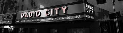 Photograph - Radio City Poster by Dan Sproul