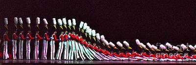 Photograph - Radio City Rockettes by Carol  Bradley