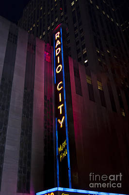 Photograph - Radio City by Steve Purnell