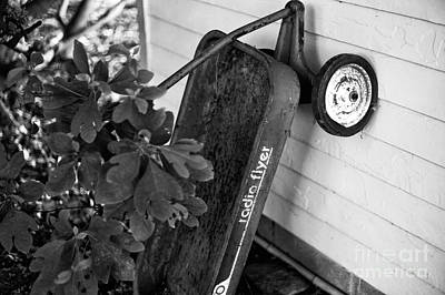 Photograph - Radio Flyer Mono by John Rizzuto