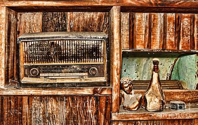 Photograph - Radio Shack By Diana Sainz by Diana Raquel Sainz