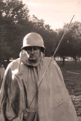 Photograph - Radio Telephone Operator Soldier by Nicola Nobile