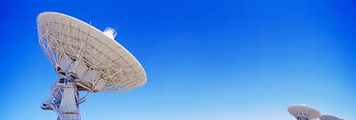 Radio Telescope Satellite Dishes Art Print by Panoramic Images