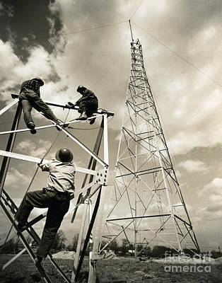 Photograph - Radio Tower by Tom Hollyman