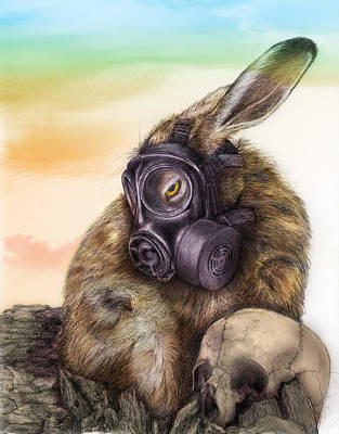Radioactive - Color Art Print by Penny Collins
