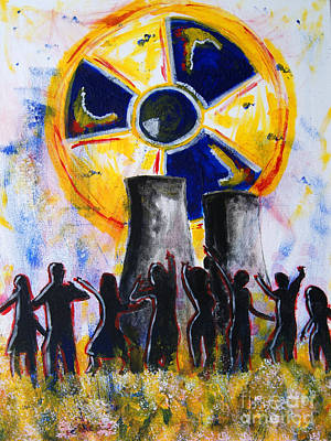Painting - Radioactive - New Generation by Michael Rados