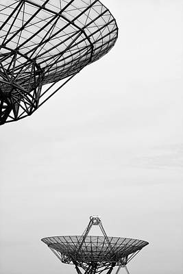 Radiotelescope Antennas.  Art Print