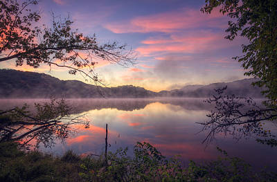 Nashville Photograph - Radnor Lake Sunrise by Malcolm MacGregor