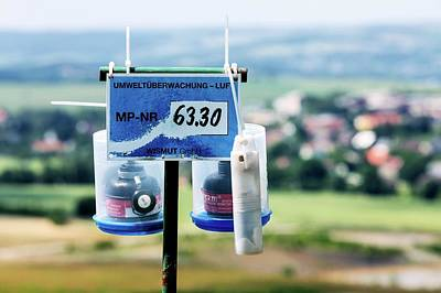 Monitoring Photograph - Radon Monitoring Equipment by Wladimir Bulgar