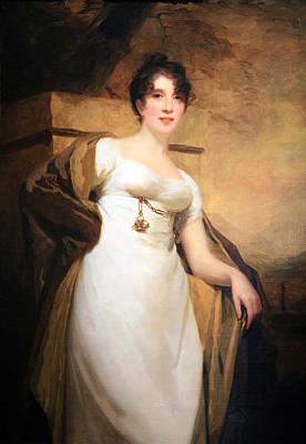 Raeburn's Mrs. Vere Of Stonebyres Art Print by Cora Wandel