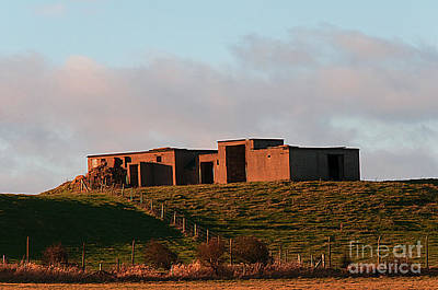 Derilict Buildings Photograph - Raf Bempton by David  Hollingworth