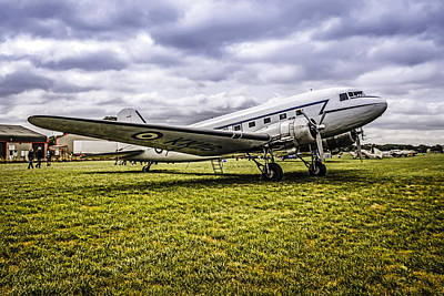 Transportion Photograph - Raf C47 by Chris Smith