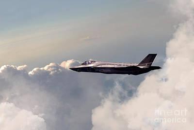 Lightning Digital Art - Raf F-35 Lightning II by J Biggadike
