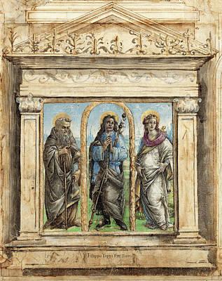 Raffaellino Del Garbo Italian, 1466 - 1524 Art Print by Quint Lox