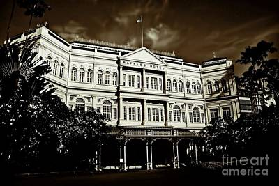 Photograph - Raffles Hotel by Shirley Mangini