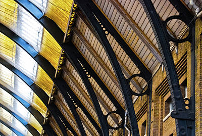 Rafters At London Kings Cross Art Print