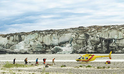 Rafters Loading Helicopter Art Print